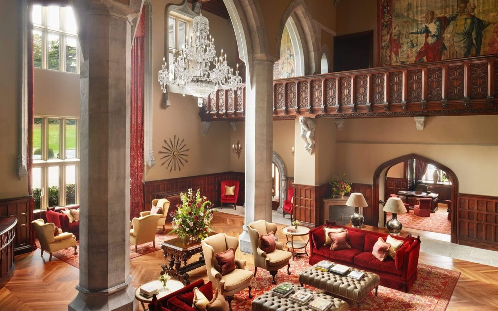The Great Hall at Adare Manor, Ireland