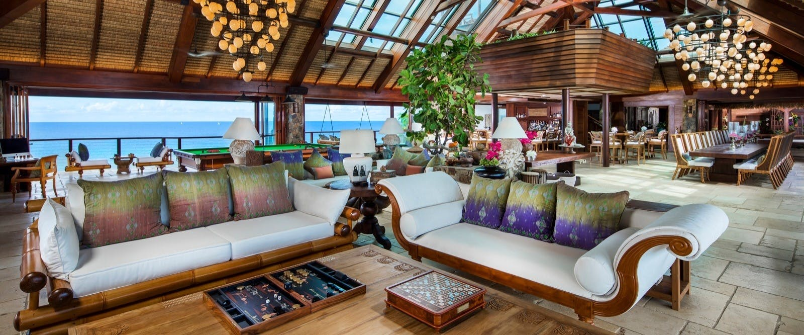 The Great House at Necker Island, British Virgin Islands