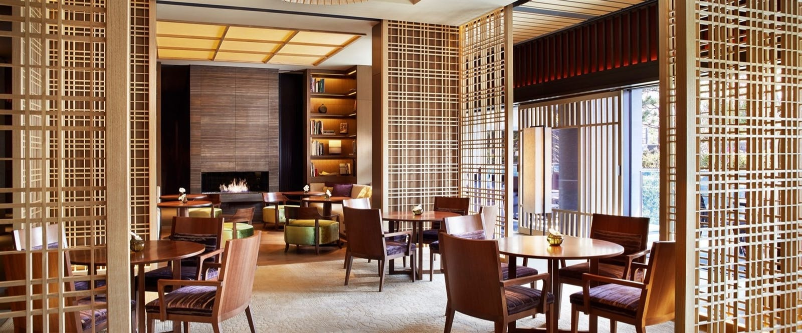 Lobby Lounge at The Ritz-Carlton Kyoto, Japan
