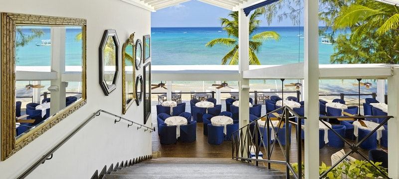 Restaurant entrance at The Lone Star, Barbados
