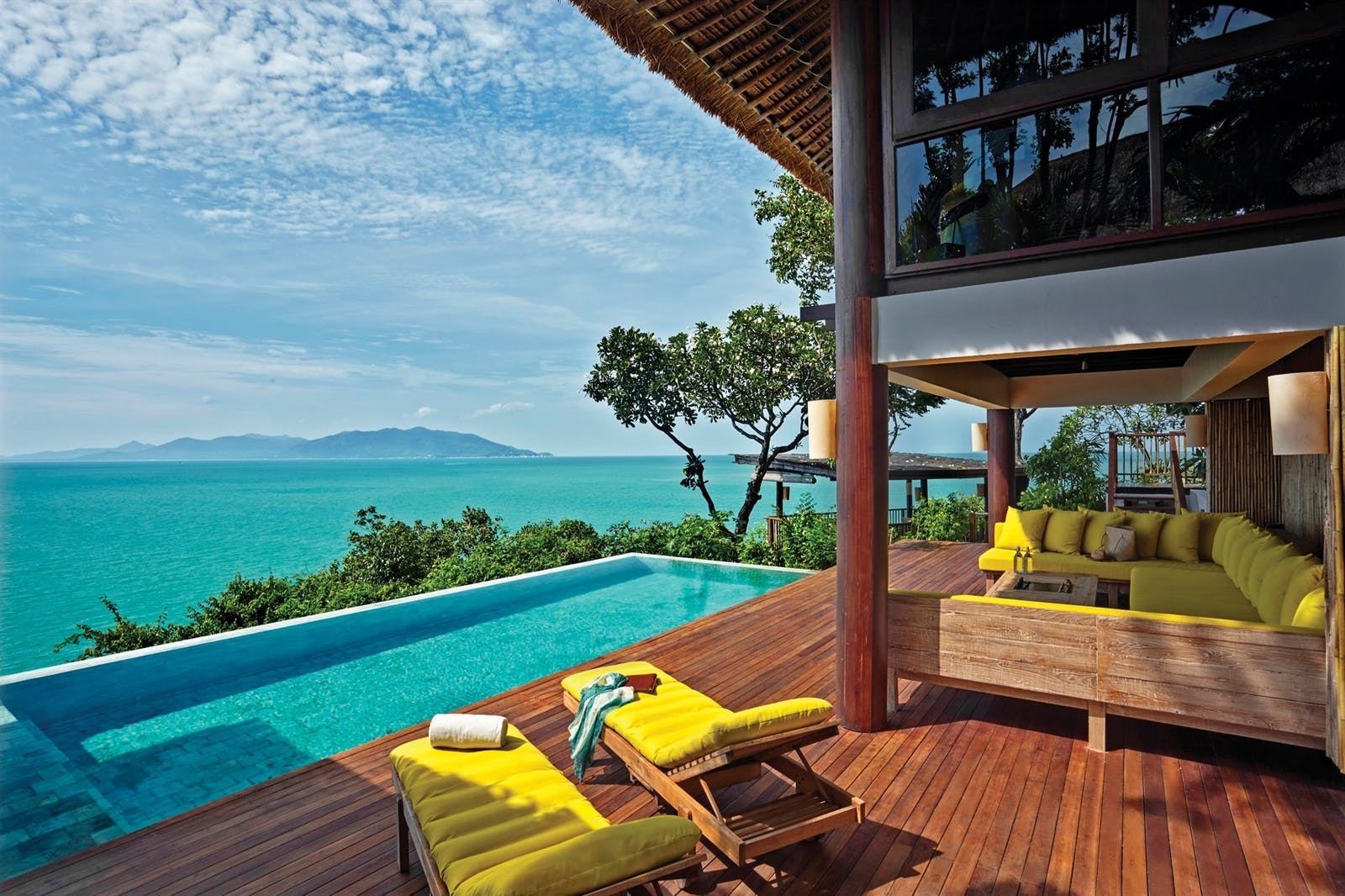 The Ocean Retreat Pool Deck, Six Senses Samui, Koh Samui, Thailand