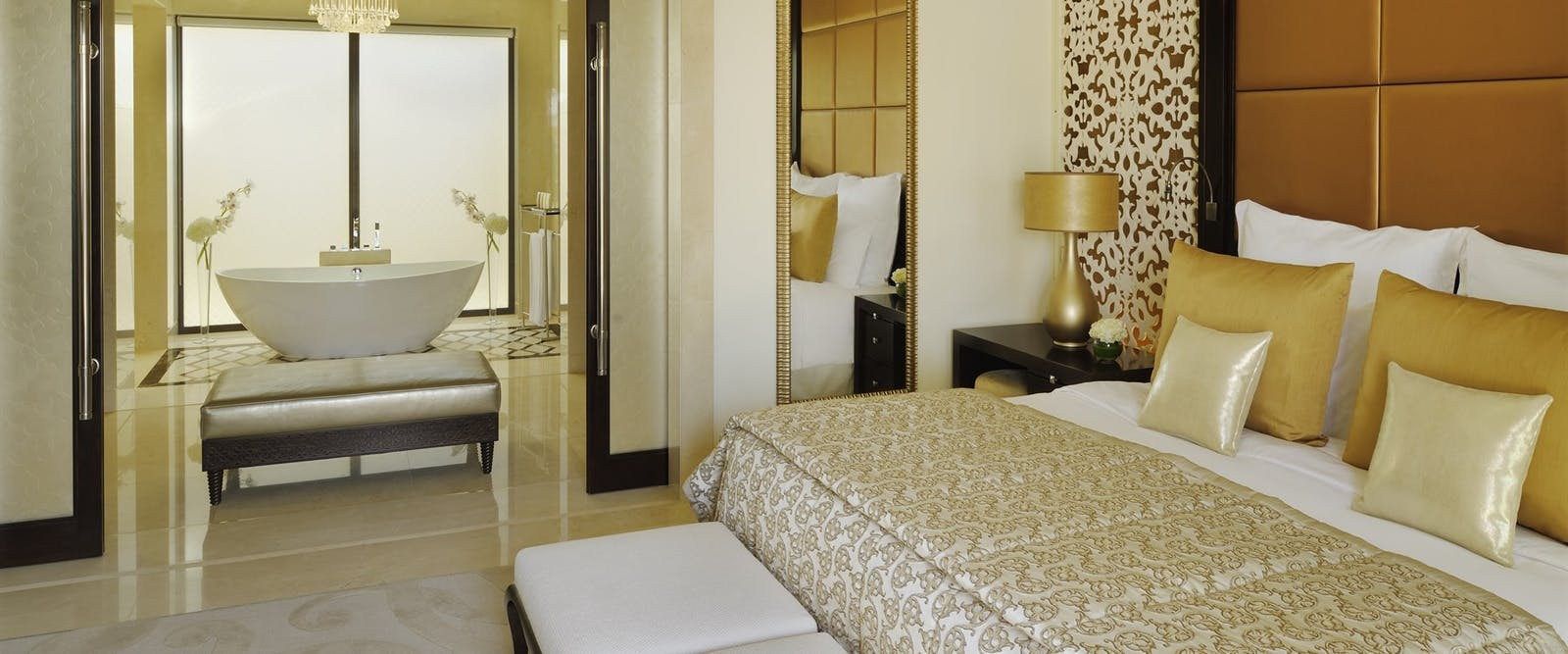 Villa Master Bedroom at One&Only The Palm, Dubai