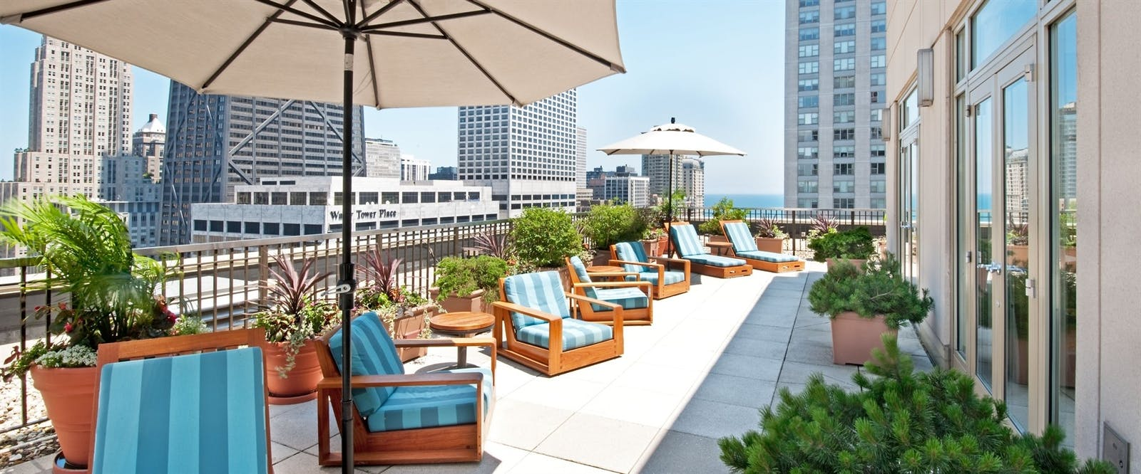 The Peninsula Suite Outdoor Terrace at Peninsula Chicago