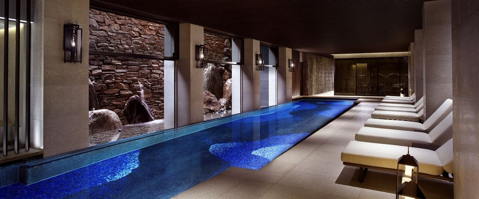 Spa Swimming Pool at The Ritz-Carlton Kyoto, Japan