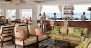 Casual bar overlooking the ocean at BodyHoliday, St Lucia