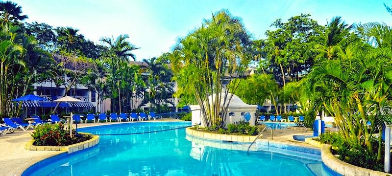 Second pool area at The Club Barbados Resort & Spa, Barbados