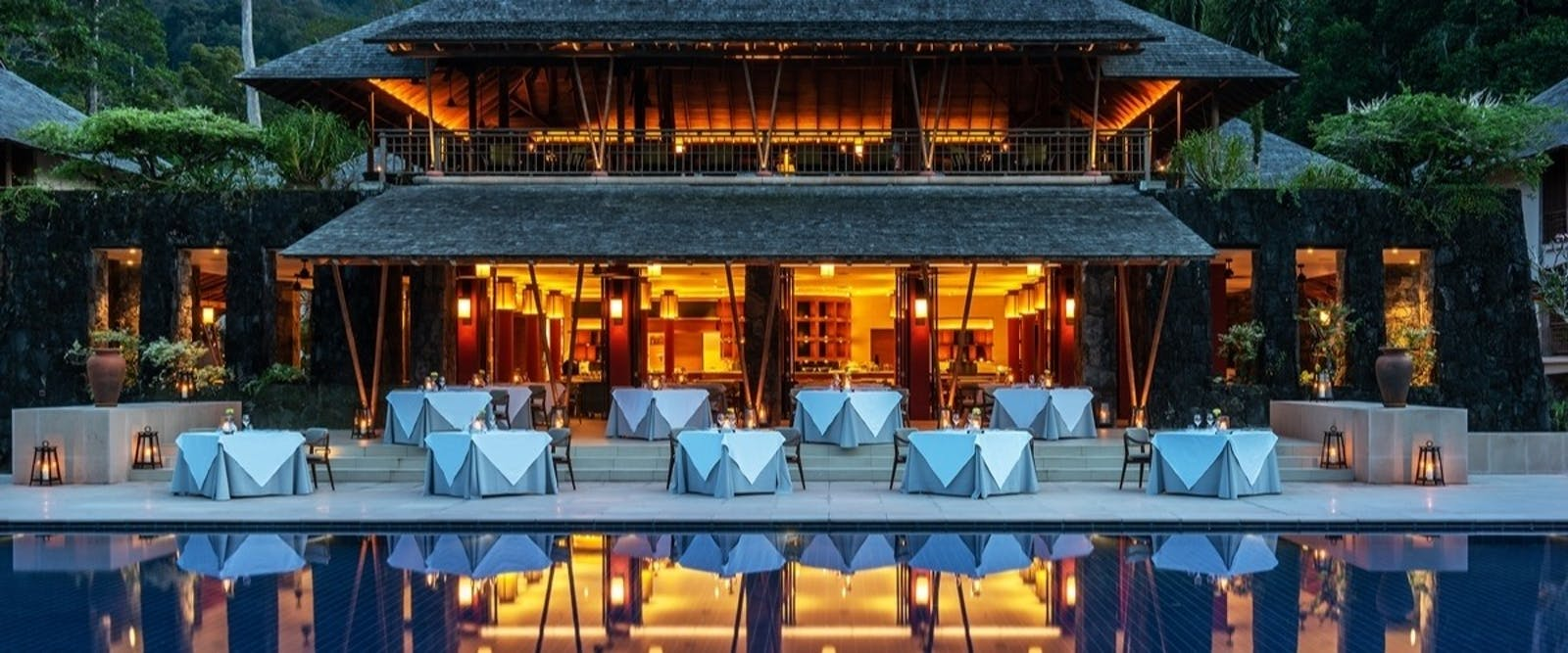 The Dining Room Exterior at The Datai Langkawi, Malaysia