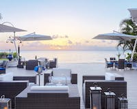 Sunset Deck at The House by Elegant Hotels, Barbados