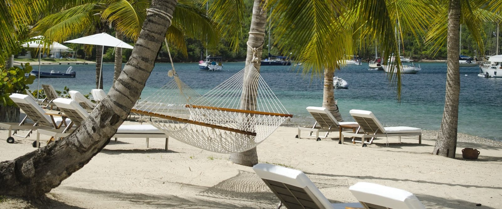 Hammock on the Beach at The Inn at English Harbour, Antigua