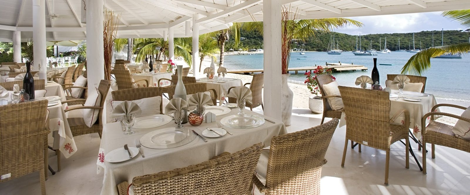 Reef Restaurant at The Inn at English Harbour, Antigua