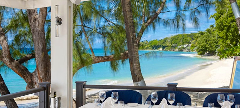 Enjoy open-air dining at The Lone Star, Barbados
