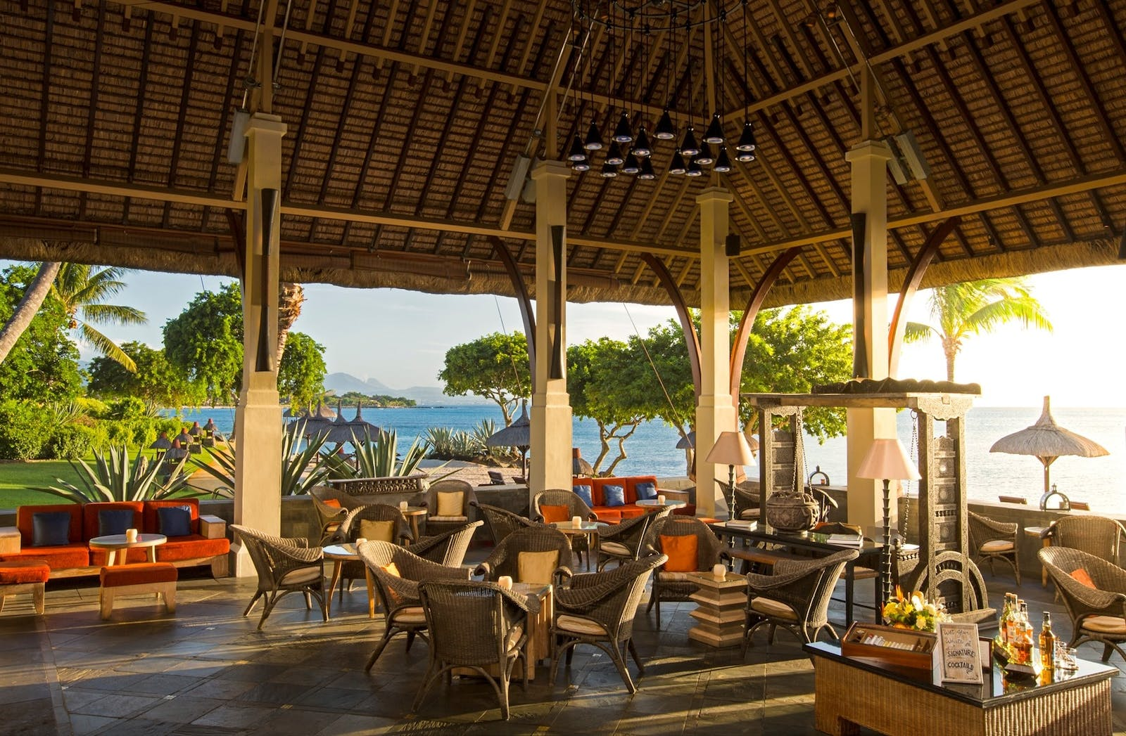Dining with a View at The Oberoi, Mauritius