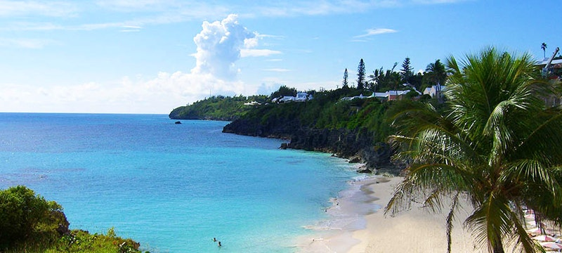 The view from a Premier Room at The Reefs Hotel & Club, Bermuda
