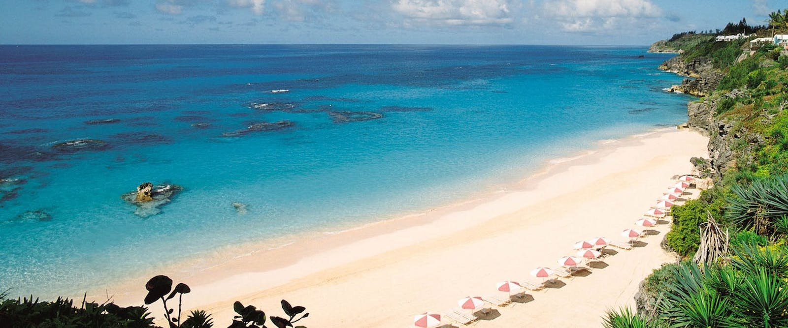 Beach at The Reefs Hotel & Club, Bermuda