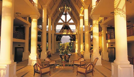 Lobby at The Residence Mauritius