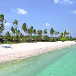 Mile Long Beach at The Residence, Zanzibar