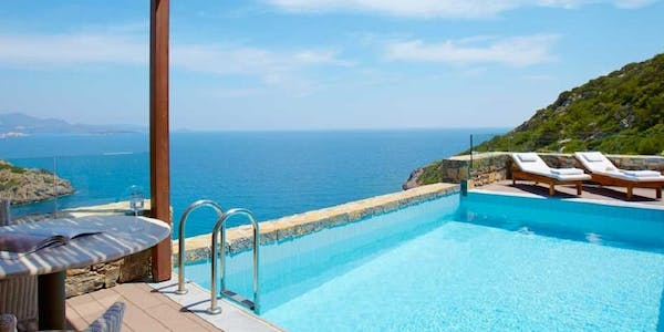 three bedroom villa sea view with private pool