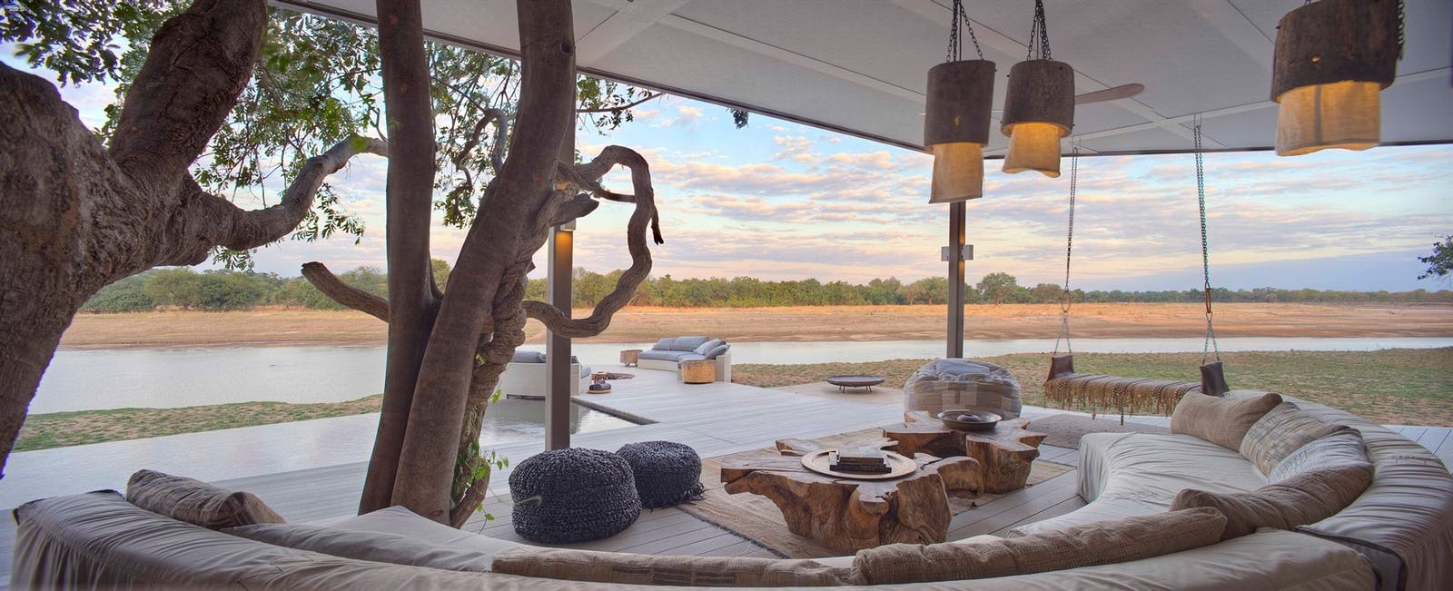 Family Villa at Time + Tide Chinzombo, South Luangwa Safari, Zambia, Africa