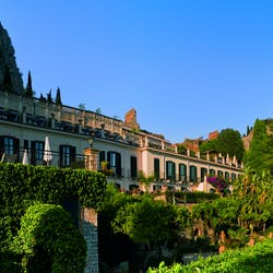 Exterior View of Belmond Grand Hotel Timeo, Siciliy, Italy