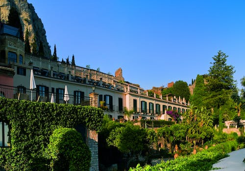 Exterior view of Belmond Grand Hotel Timeo, Siciliy