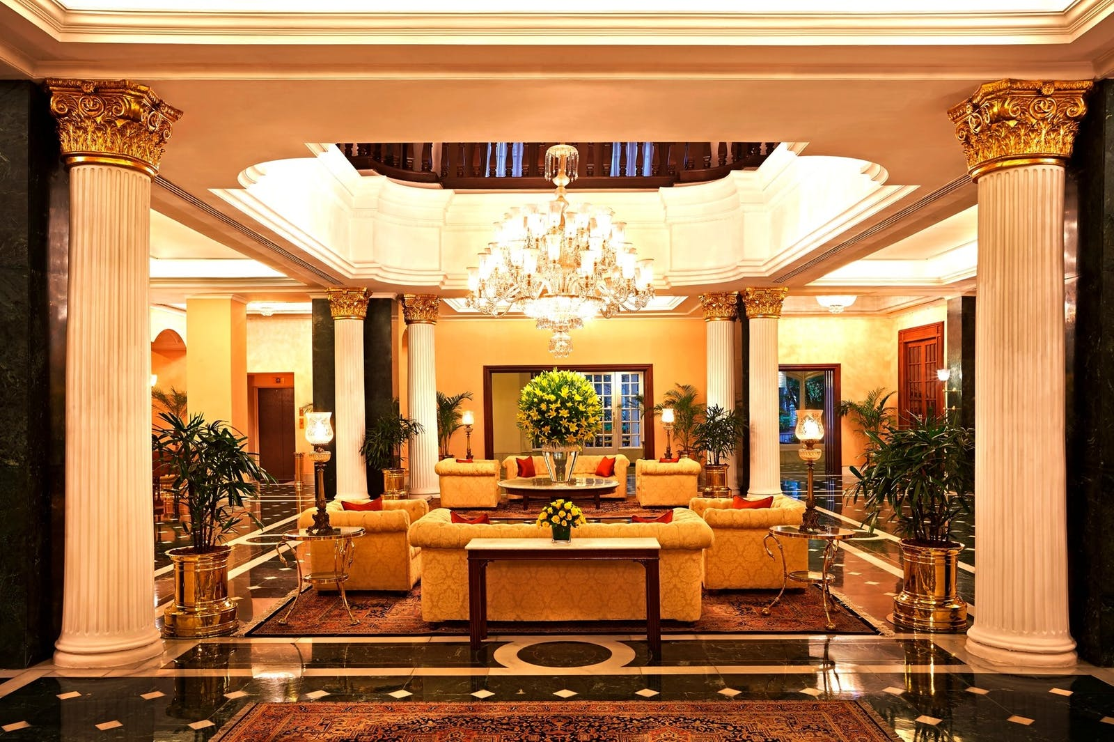 the oberoi grand kolkata lobby