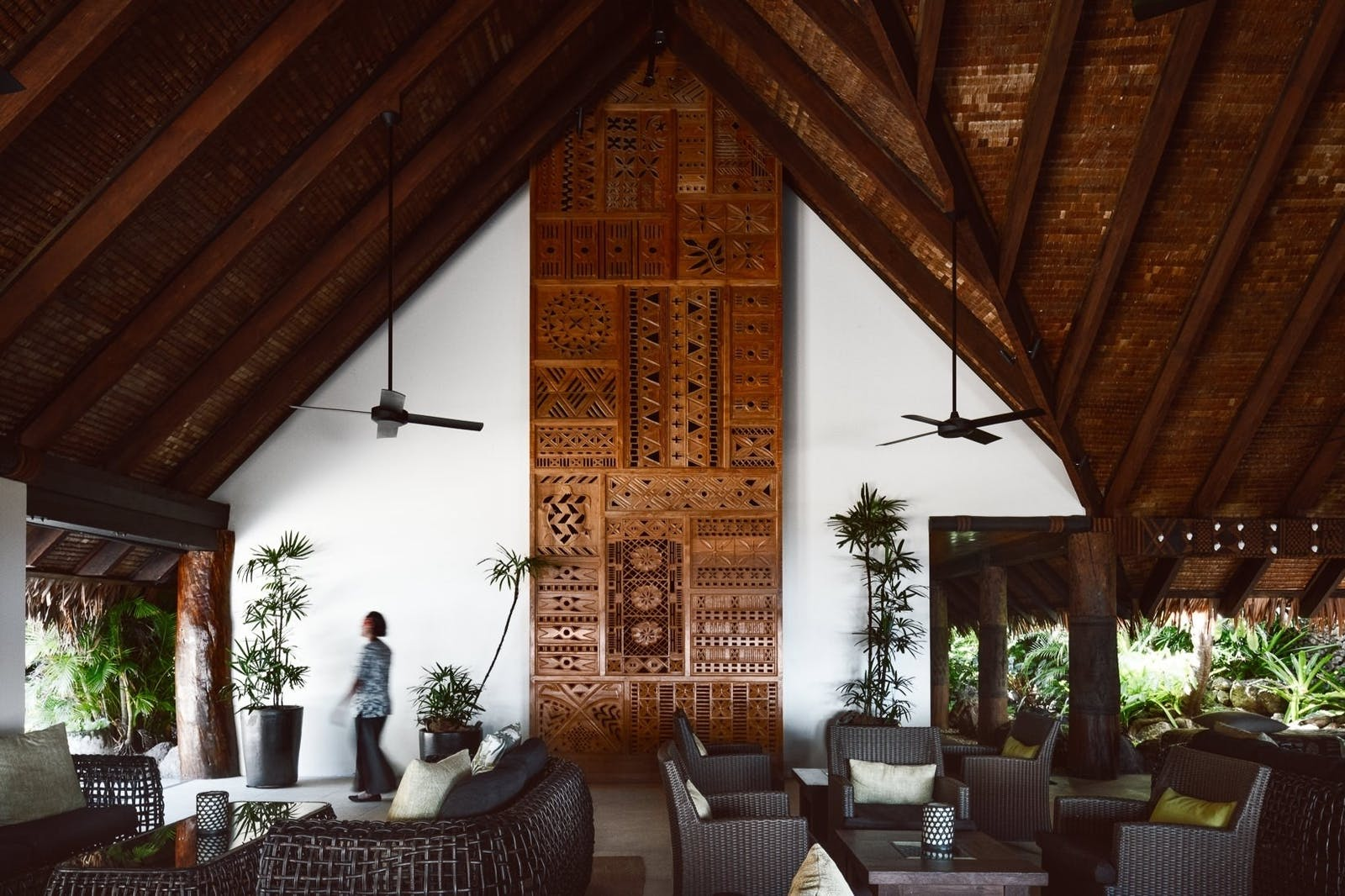 Lobby at Tokoriki Island Resort, Fiji