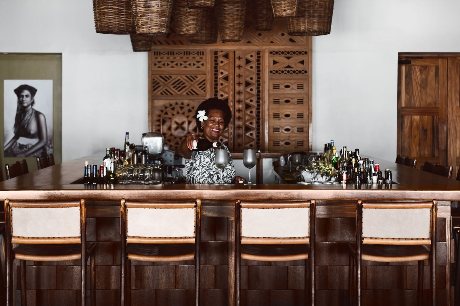 Bar at Tokoriki Island Resort, Fiji