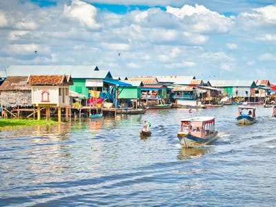 Tonle Sap Lake and Departure