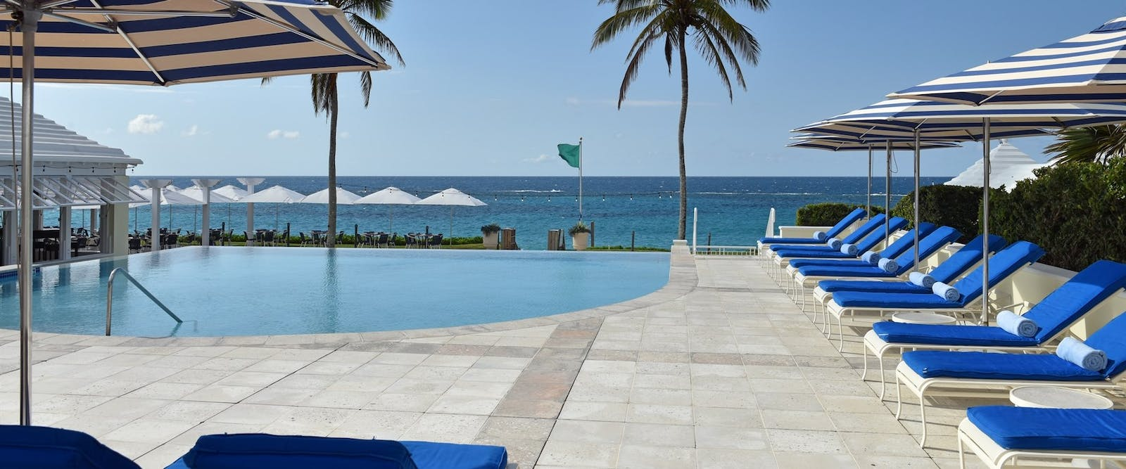 The Beach Club Adult Swimming Pool at Rosewood Tuckers Point, Bermuda