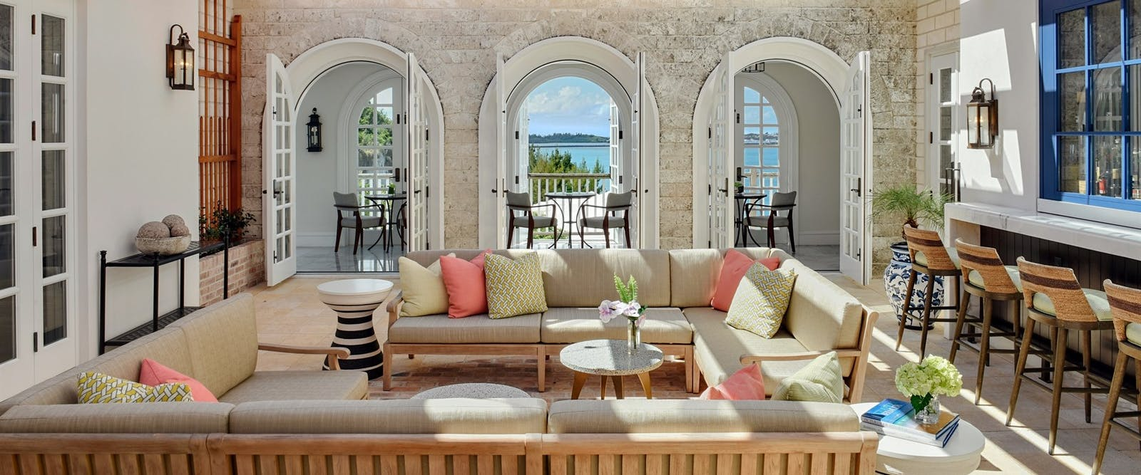 Conservatory Bar at Rosewood Tuckers Point,Bermuda