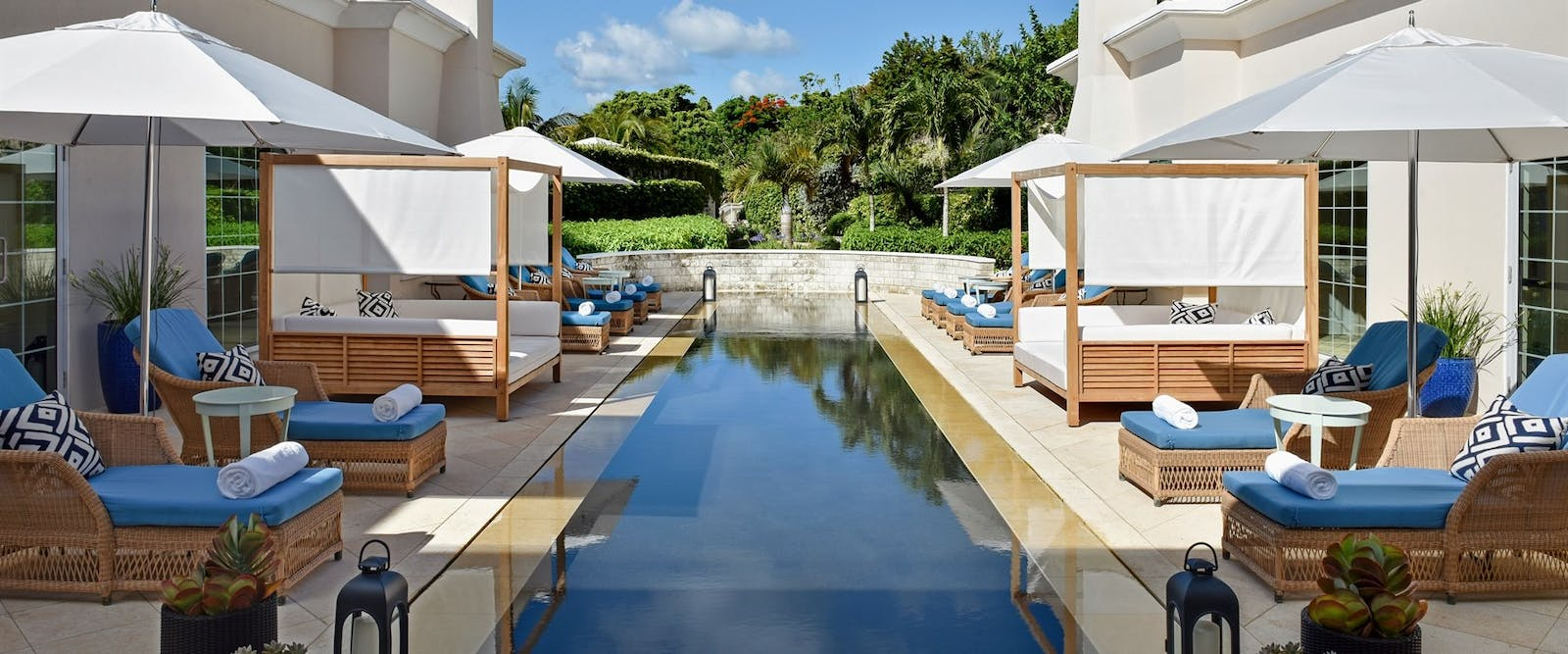Spa Reflecting Pool at Rosewood Tuckers Point, Bermuda