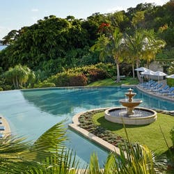 Palm Court Swimming Pool at Rosewood Tuckers Point, Bermuda