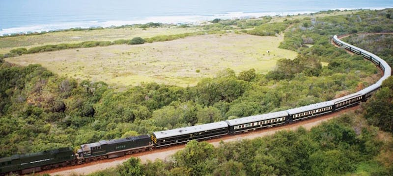 Rovos Rail train in South Africa, tour holidays