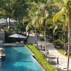 Swimming Pool and Beach Area at Trisara, Phuket