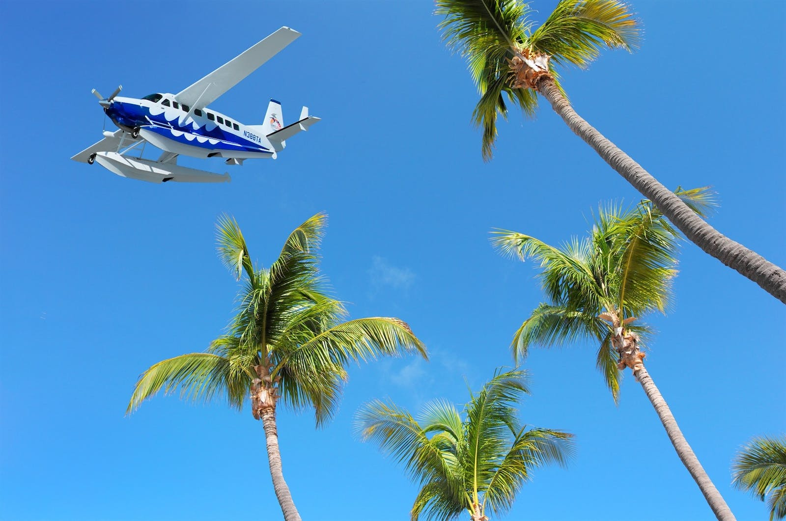 seaplane transfers to little palm island resort  spa a noble house resort