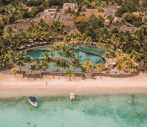 Aerial View of Trou Aux Biches Beachcomber Golf Resort & Spa, Mauritius