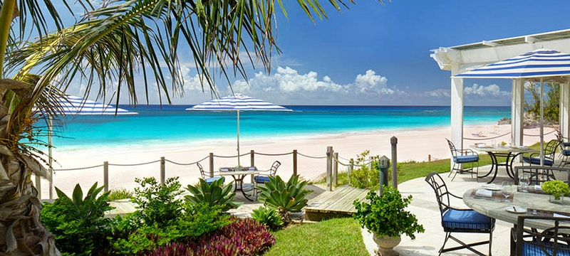 The beach at Tuckers Point, Bermuda