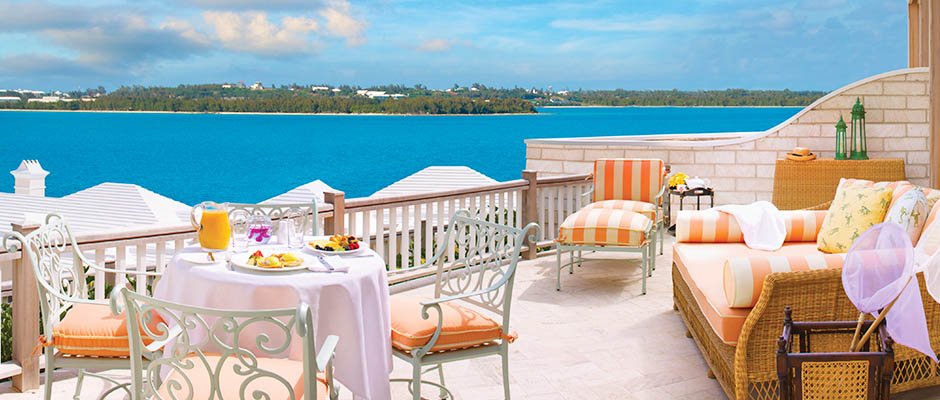 Manor House Suite Terrace at Tuckers Point, Bermuda