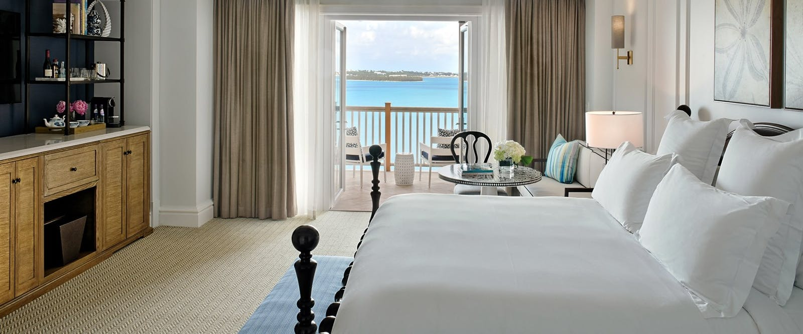 Ocean View King Room at Rosewood Tuckers Point, Bermuda