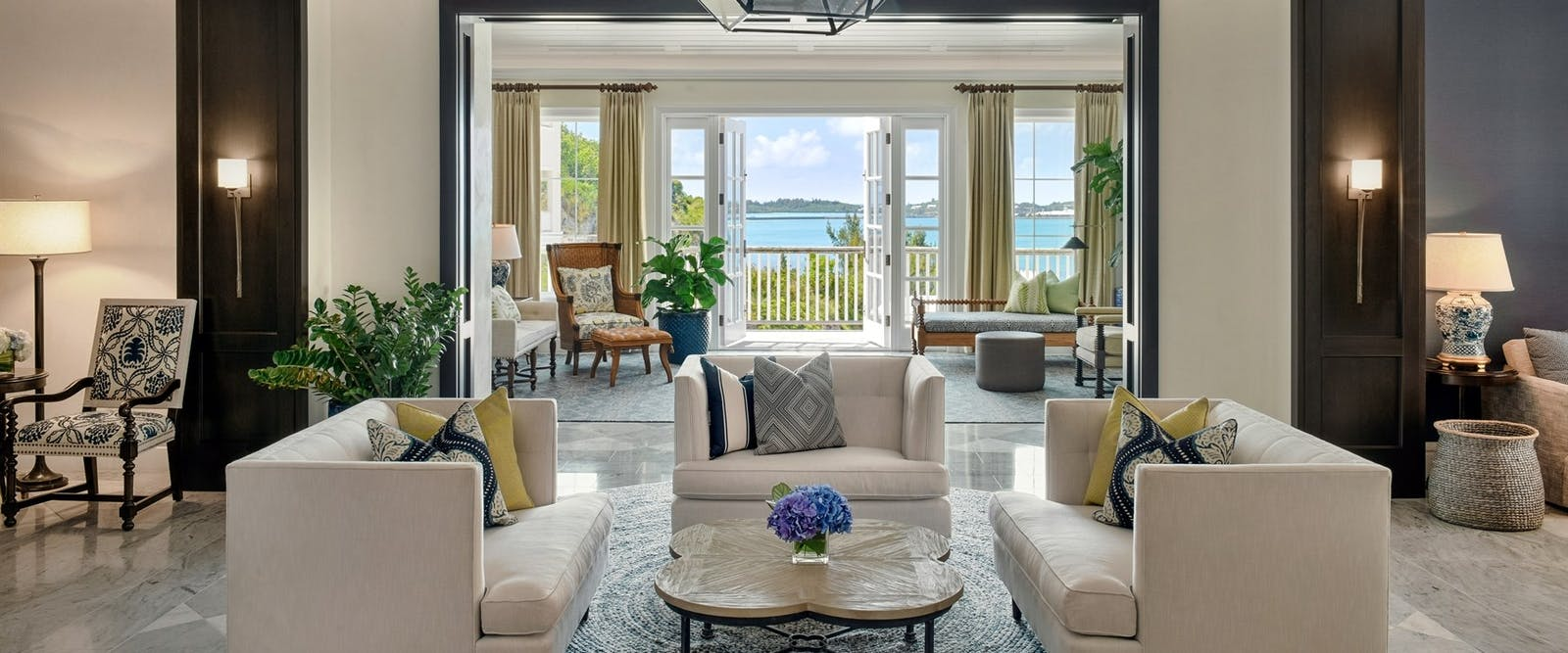 Front Desk Lobby at Rosewood Tuckers Point, Bermuda