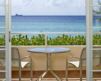 Deluxe Ocean View Junior Suite at Turtle Beach Resort by Elegant Hotels, Barbados