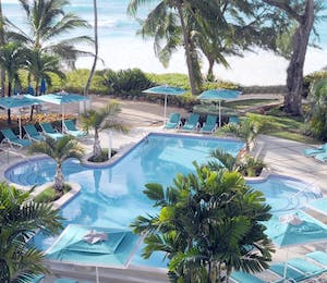 Swimming Pool at Turtle Beach Resort by Elegant Hotels, Barbados