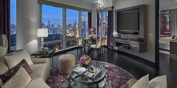 two bedroom central park west suite