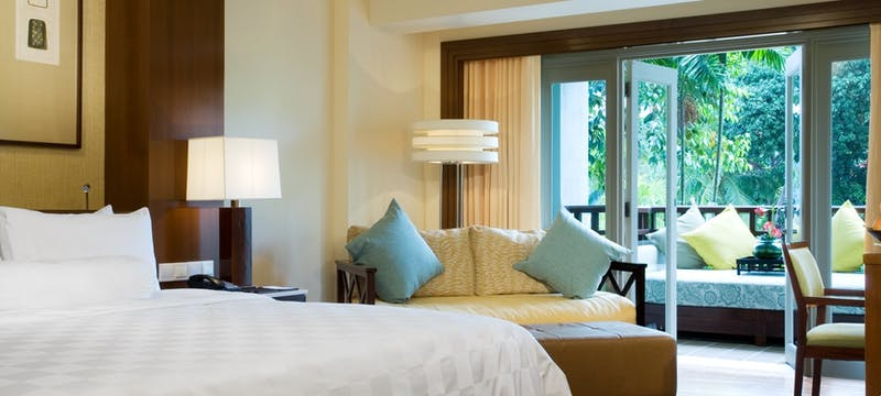 two bedroom ocean facing room at the westin langkawi resort  spa