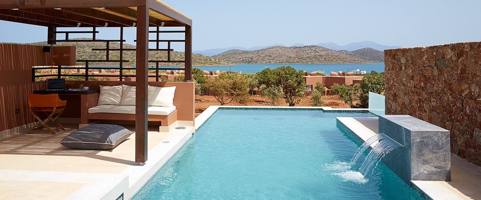 Pool Area at Domes of Elounda, Autograph Collection, Crete, Greece