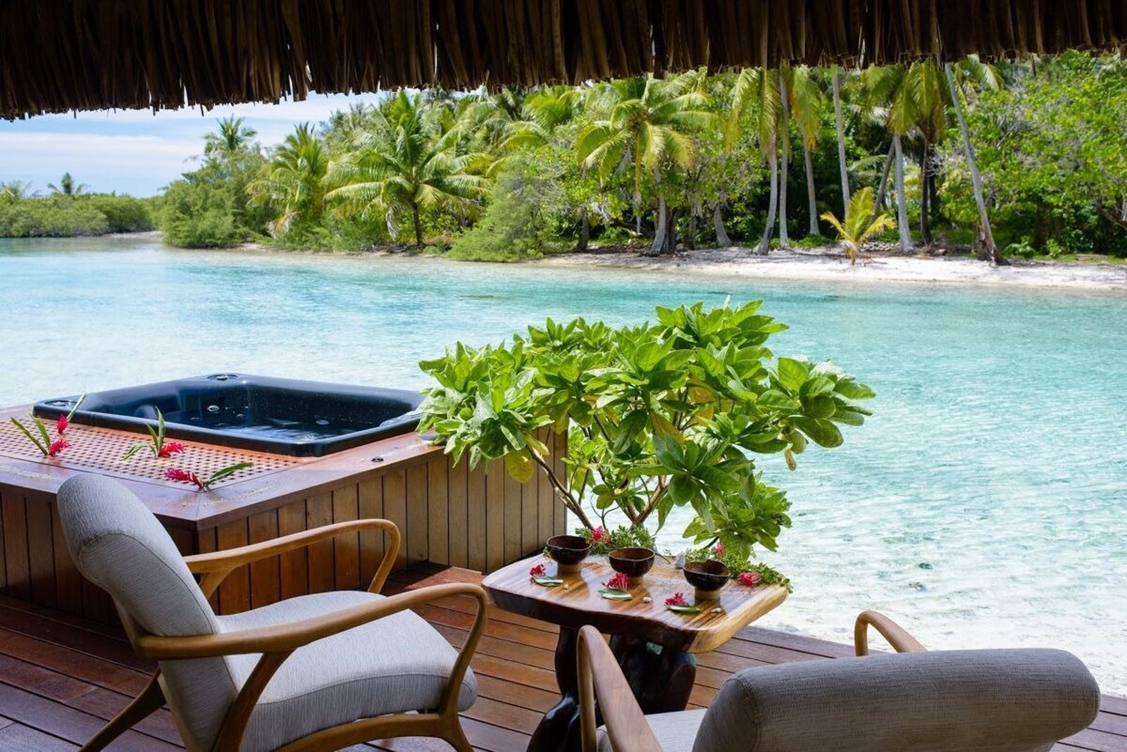 Spa at Vahine Private Island Resort & Spa, French Polynesia