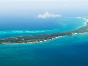 Aerial View of Vamizi Island, Mozambique