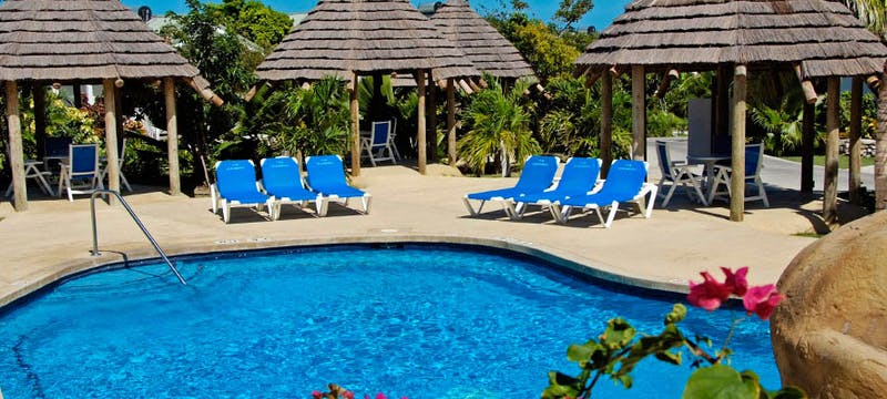 Couples only pool at The Verandah Resort & Spa Antigua