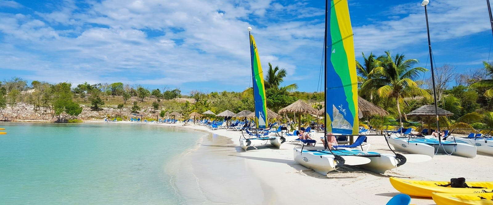 Watersports on the Beach at The Verandah Resort & Spa, Antigua