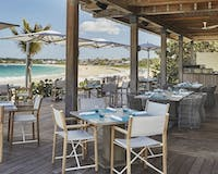 Bamboo Restaurant at Four Seasons Anguilla Resort & Residences